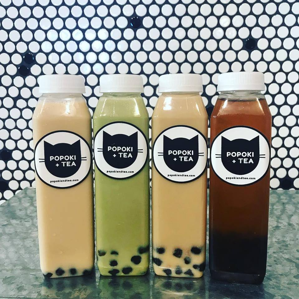 Popoki and Tea - Boba Tea Selection